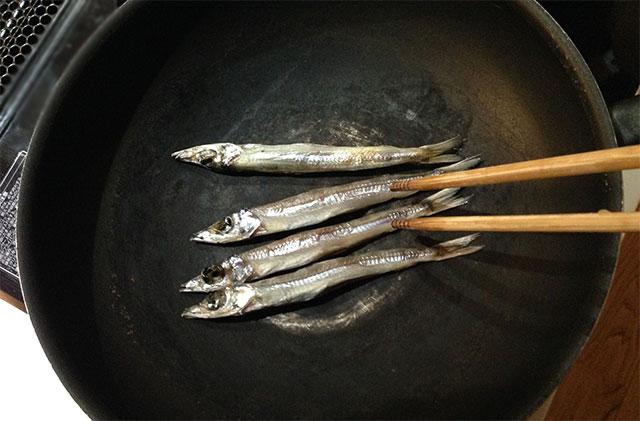 魚 フライパン